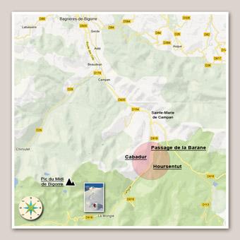 Locations vacances, direction Pic du Midi